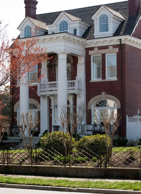 18th annual museum district mother 39 s day house garden for Traditional home architecture