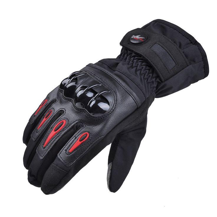 2014 guantes de moto impermeable guante de moto de carreras de moto pro guantes de moto guantes de invierno invierno luvas motocicleta m ~ xl