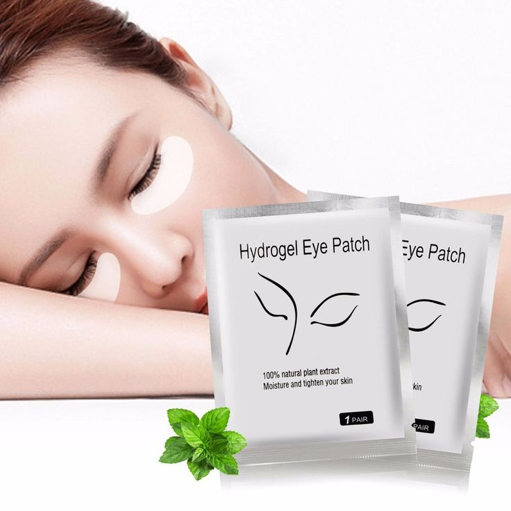 10 Pairs/lot Hydrogel Eye Patch Moisture And Tighten Skin Eye Mask Dark Circle and Wrinkle Removal Eye Care