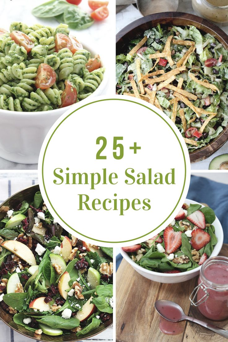 Are you trying to eat healthier. Try out some of these Simple Salad Recipes.