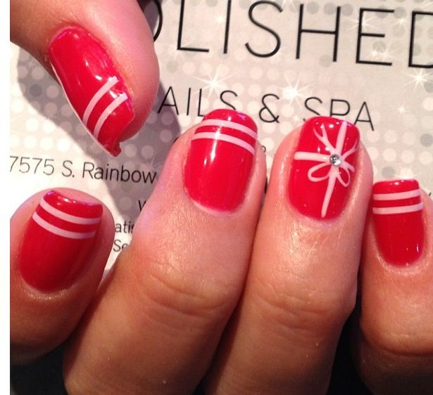 Best 25 christmas present nails ideas on pinterest christmas red present nails for christmas maybe prinsesfo Choice Image