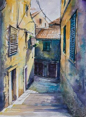 Sibenik 30x40 watercolors