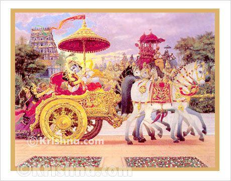 Krishna.com Store - Krishna Kidnaps Rukmini Poster, Large, $11.95…