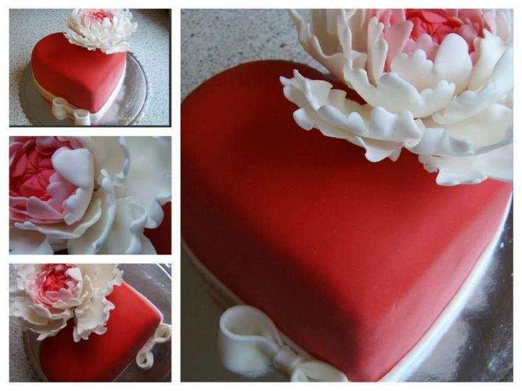 Valentínska torta