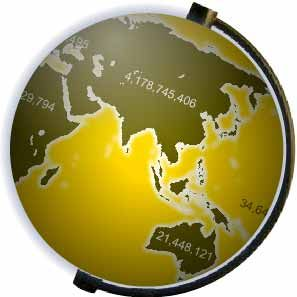 Population Counters Earth Statistics Agriculture, Food Energy Production & Consumption Natural Resources Carbon Emissions & Pollution Earth Clock from Poodwaddle.com World Clock from Poodwaddle.com Vital Statistics from Poodwaddle.com