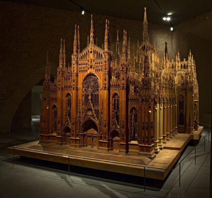 Museo Del Duomo_ Modello ligneo del Duomo di Milano, Bernardino Zenale da Treviglio, 1519