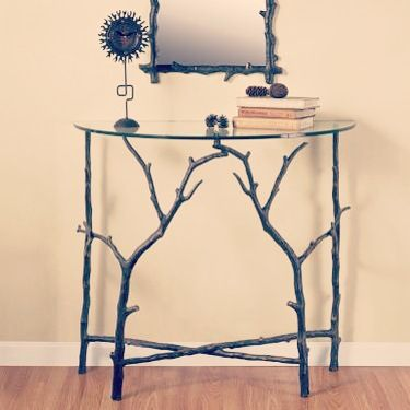Set the scene with the Branch Entry Table from SPI Home! Click our profile link for more info and a coupon! #decor #homedecor #furniture #coupon #homegoods #lowes #nature #rustic #boho #wayfair #interiordesign #designlovers #holidayseason #winteriscoming #vibes