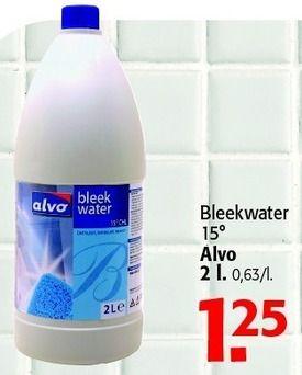 Promoties Bleekwater 15 alvo - Alvo - Geldig van 04/07/2012 tot 17/07/2012 bij Alvo