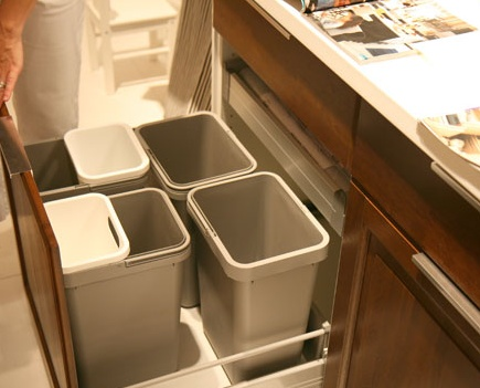 Possible Garbage/recycling Solution For Kitchen