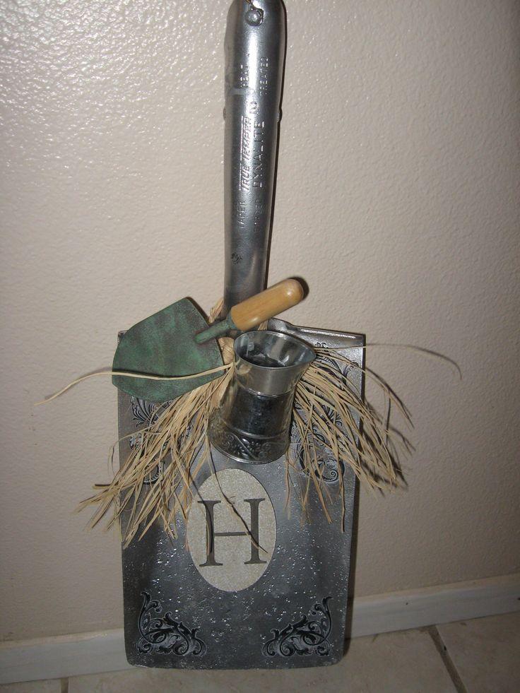 Old Shovel Heads Given New Life Garden Tool Organization