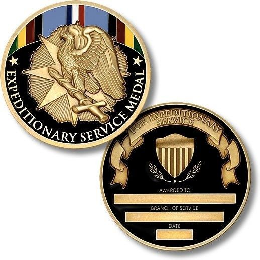 Armed Forces Expeditionary Medal Coin