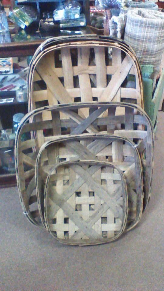 I love, love, love tobacco baskets.....