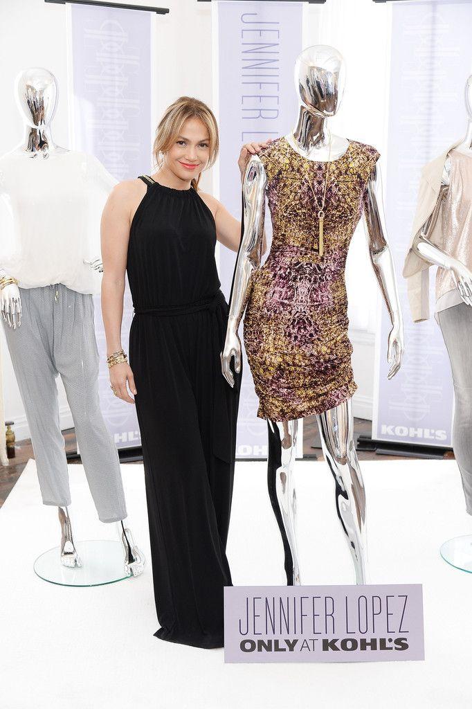 Steal: Jennifer Lopezs Jennifer Lopez for Kohls Fall 2013 Collection Debut Jennifer Lopez for Kohls Wide Leg Jumpsuit - The Fashion Bomb Blog : Celebrity Fashion, Fashion News, What To Wear, Runway Show Reviews