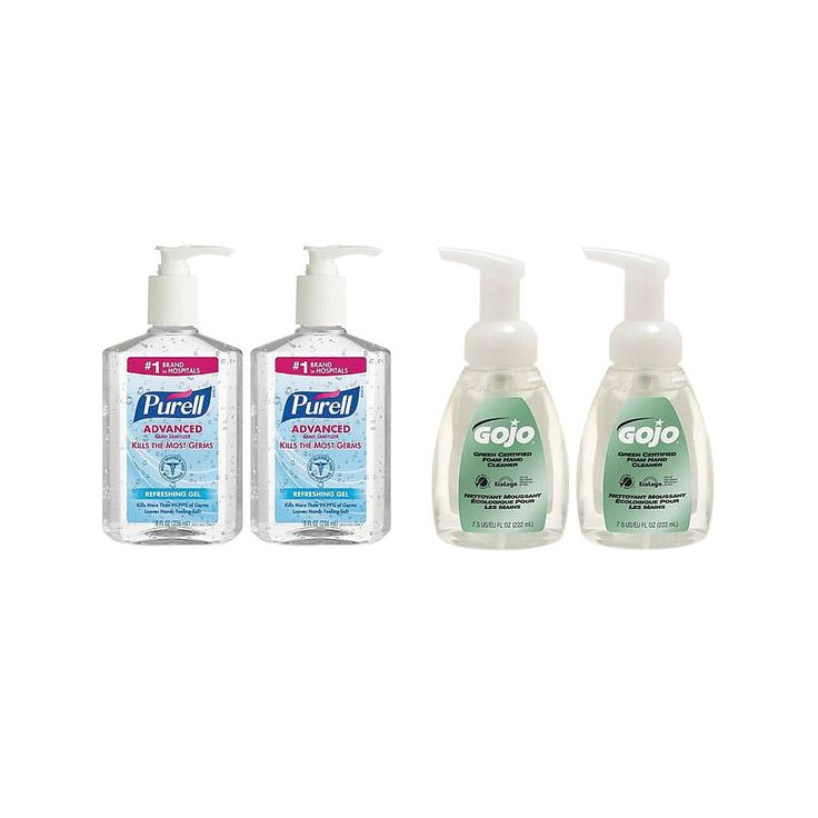 Purell Gojo Hand Sanitizer And Foam Soap Kit Hand Hygiene Hand