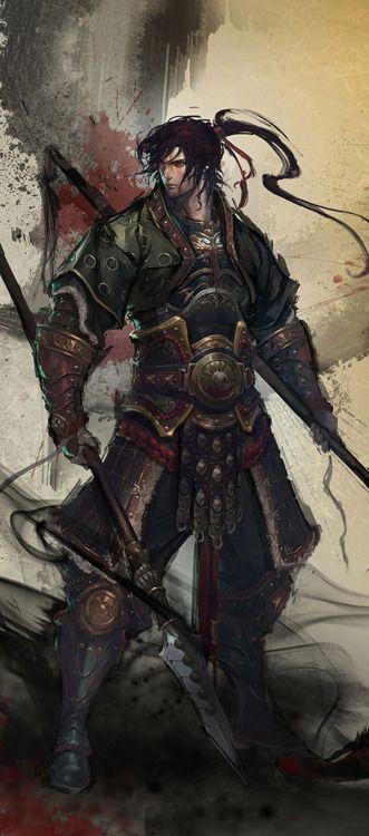sekigan:  Samurai - If ONLY I …@魂儿宝采集到人设(男)(756图)_花瓣游戏