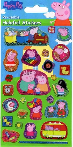 Peppa Pig stickers - small