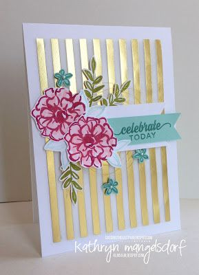 Kathryn's Stampin' World - Stampin' Up! What I Love, Enjoy the Little Things, 2 Step Stamping, #2016SaleABration
