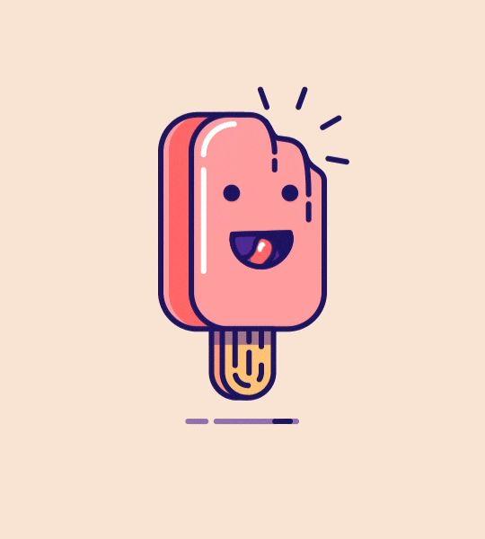 Popsicle - GIF by Tsuriel