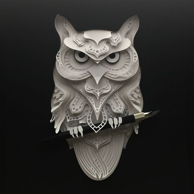 Delicate Animal Papercuts That I Create To Explore The Animal Form | Bored Panda