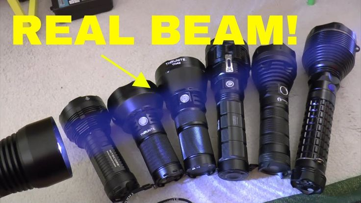 Flashlight with Most Throw! - Seeing is Believing