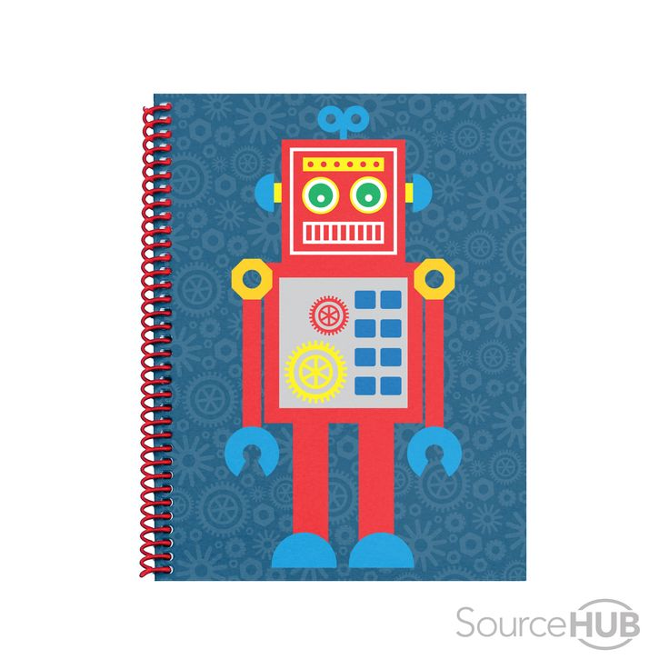 Kids Notebook - Designed by SourceHub.