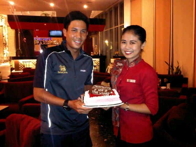 Pemain Thailand Supravee Phatam juara Borobudur Classic berhadiah total $60,000 yang berakhir Jumat kemarin.