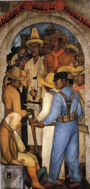 Diego Rivera - Death of the Capitalist, 1928