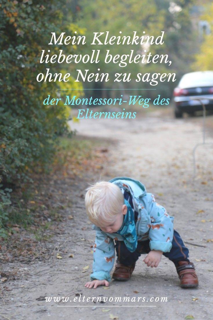 Mein Kleinkind liebevoll begleiten, ohne Nein zu sagen? Ja, das ist möglich. Auf dem Montessori Weg. – joriamahana