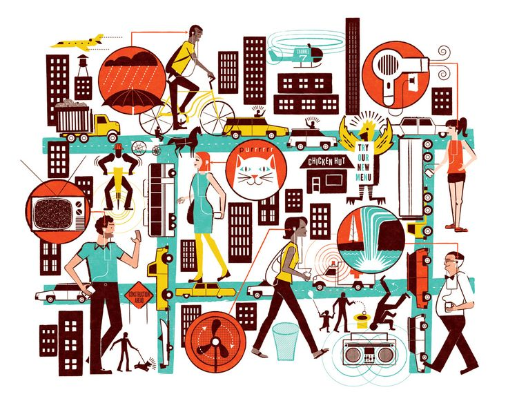 Wall Street Journal Illustrations - See Scotty Design & Illustration