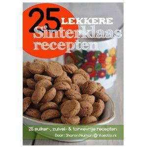 Sinterklaasrecepten zonder geraffineerde suiker, zuivel en tarwe
