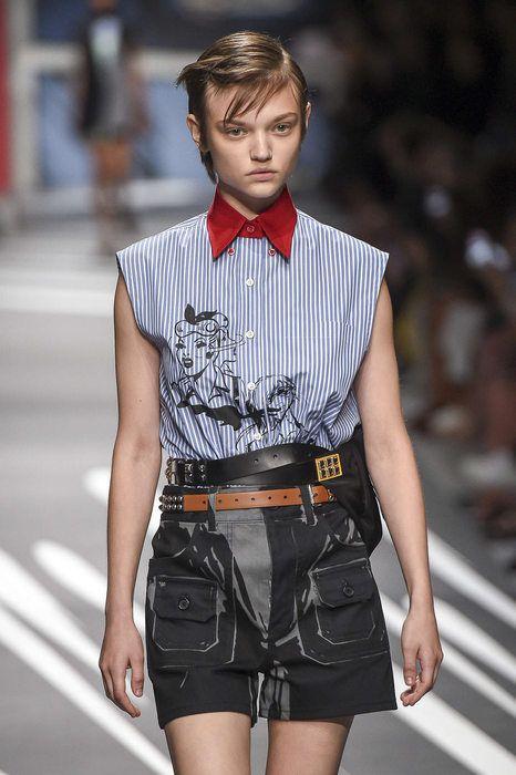 Prada, 春夏 2018, Milan, Womenswear
