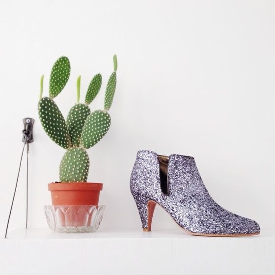 love wedding shoes addict mariage  patricia blanchet chaussures Boots Glitter bottines