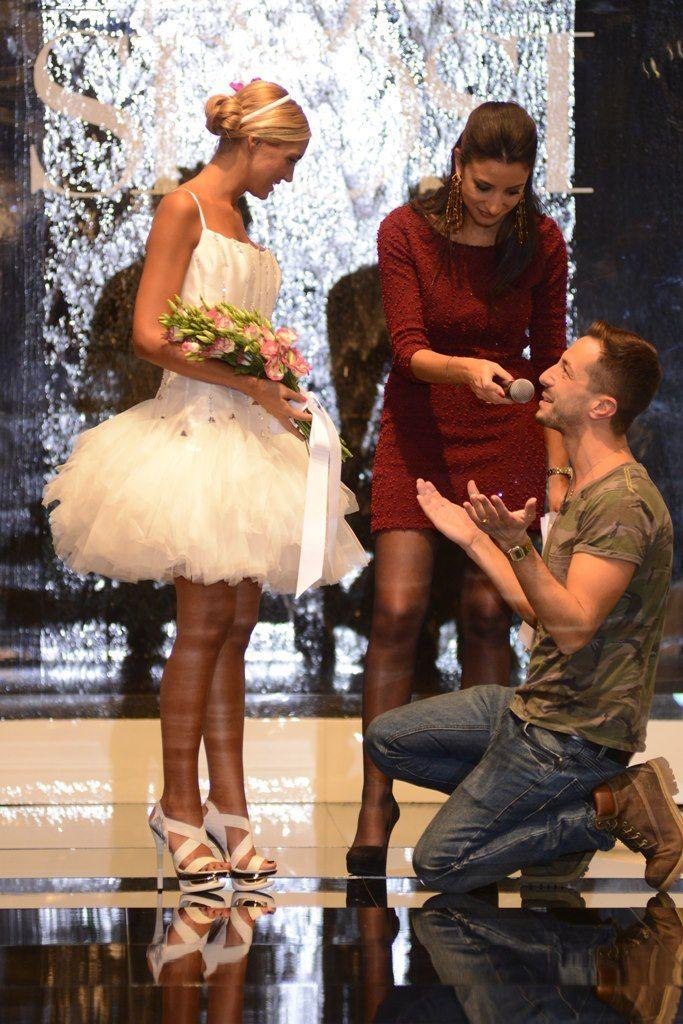Una proposta pubblica di un futuro sposo! #Bari #FieraSposi #PromessiSposi