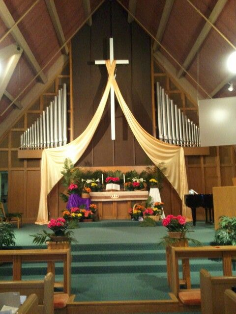 1000 Images About Easter Church Decorating On Pinterest