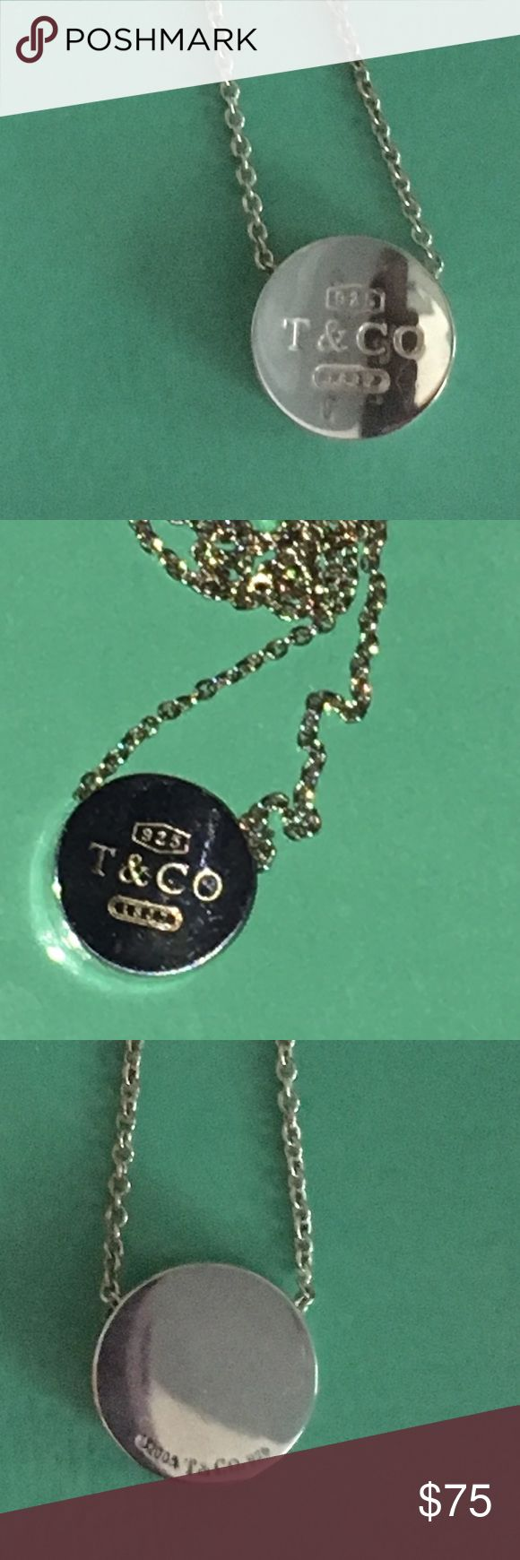 """925 Tiffany and Co Concave necklace *RARE* 16"""" great used condition. Perfect staple to any wardrobe! Accepting reasonable offers too through the offer button. Don't miss out on this great piece at an amazing price ! Tiffany & Co. Jewelry Necklaces"""
