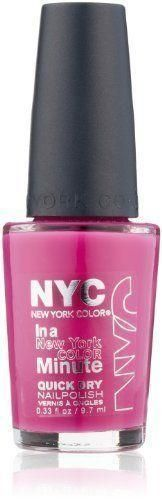 NYC In A New York Color 238 Moma Minute Quick Dry Nail Polish