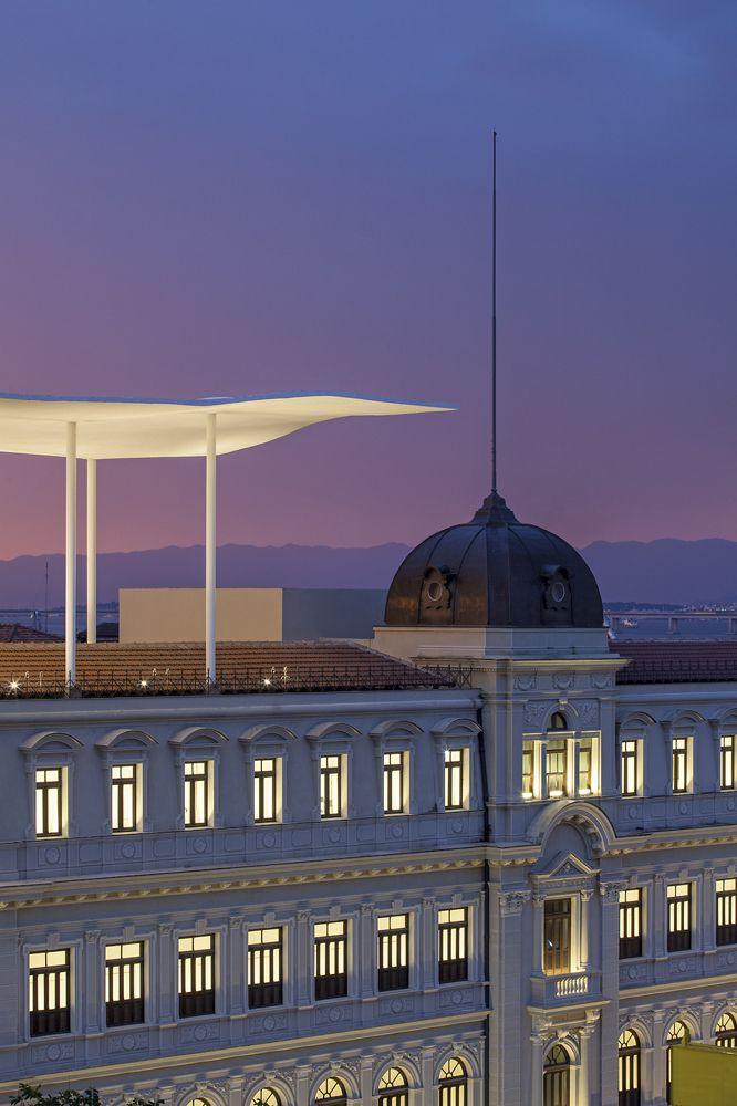 O MAR – Museu de Arte do Rio, une em seu projeto a arquitetura moderna e a antiga em projeto do escritório carioca Bernardes + Jacobsen.