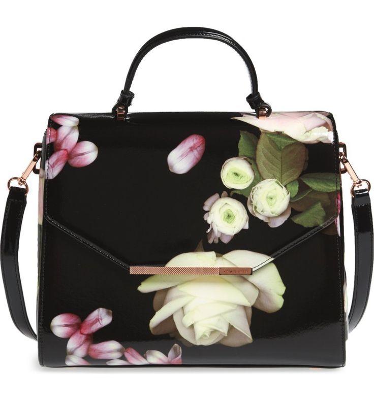 Main Image - Ted Baker London Large Kensington Lady Bag Top Handle Satchel