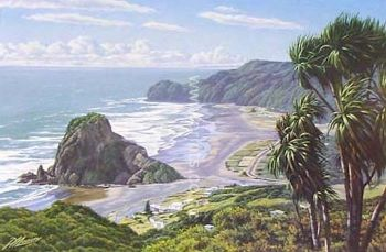 Piha Waitakeres by Peter Morath
