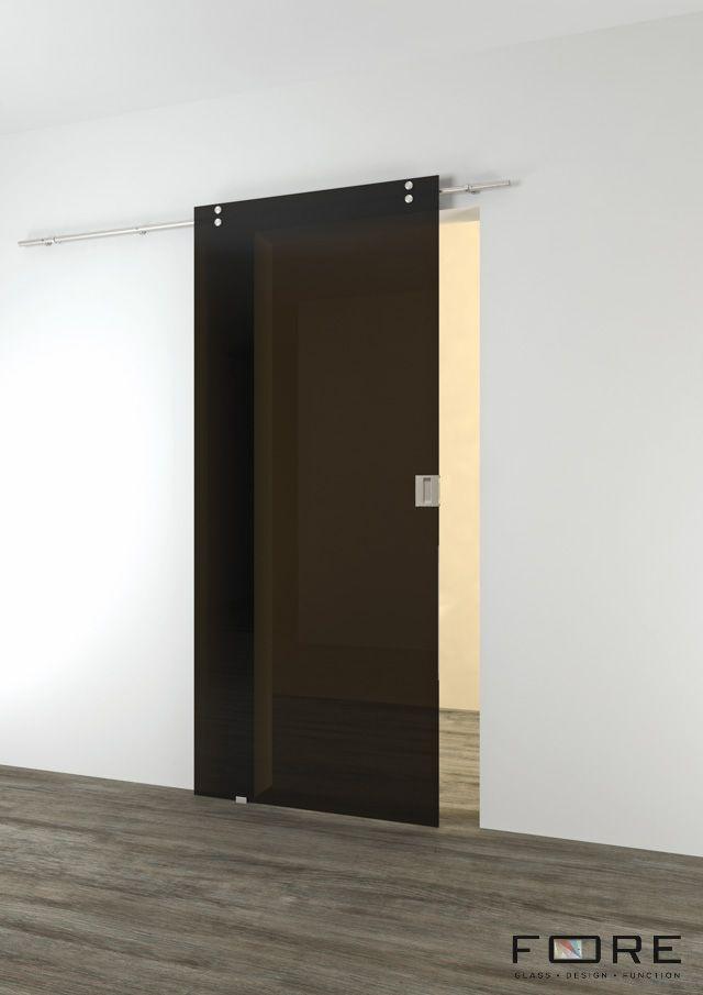 Drzwi szklane z kolorem, przesuwne. Glass doors. www.fore-glass.com, #drzwi #drzwiszklane #drzwiwewnetrzne #szklane #glassdoor #glassdoors #interiordoor #glass #fore #foreglass #wnetrza #architektura