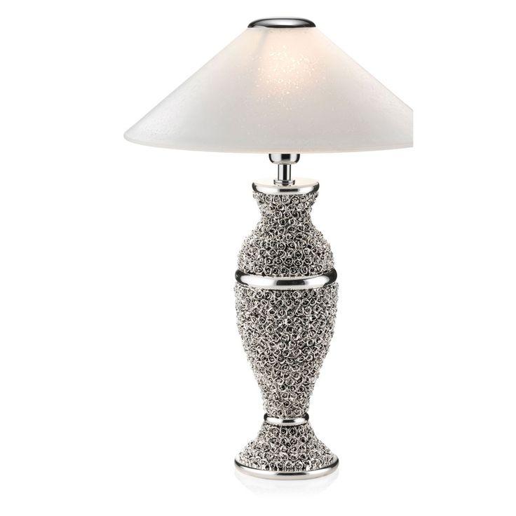Lampada con motivi floreali - Roses lamp Sovrani