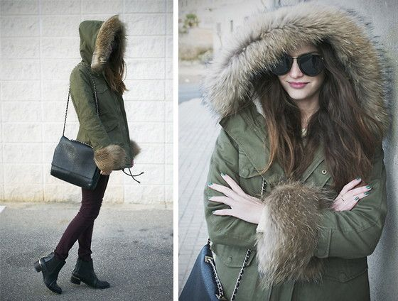 BEST PARKA EVER (by Maria Sancho) http://lookbook.nu/look/4490189-BEST-PARKA-EVER