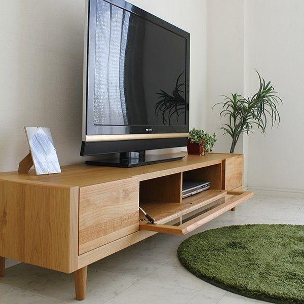 テレビ台 テレビボード AV収納 完成品 幅180cm 収納 おしゃれ 自然塗装 北欧ミッドセンチュリーの通販【大川家具三昧】