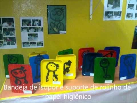 Joan Miró - Projeto de Artes 2011 - YouTube BONES IDEES PER TRASPASSAR A 3D ELS QUADRES DE MIRÓ