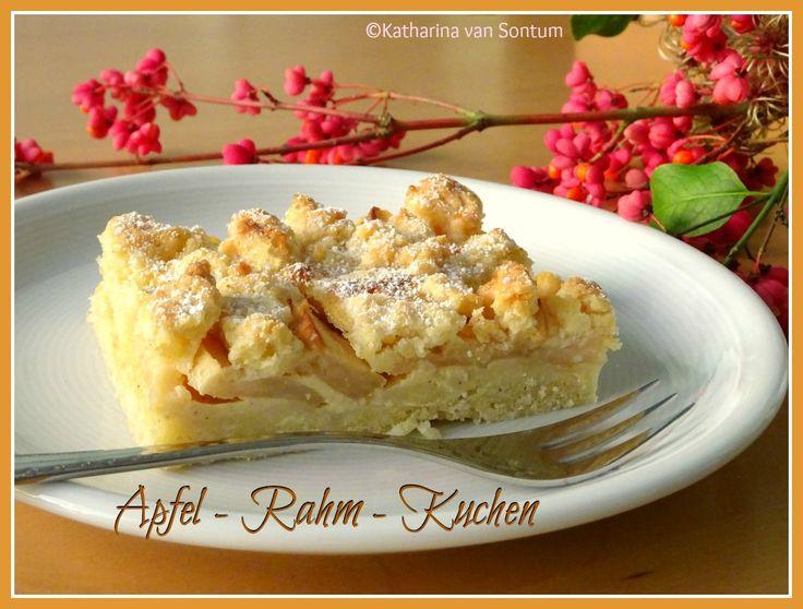 Apfel rahm kuchen hefeteig