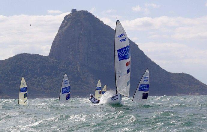 vela; regata; olimpíadas; classe finn;  (Foto: Brian Snyder/Reuters)