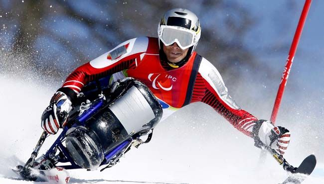 Winter Paralympics Games 2014. Paralympic Skiing.