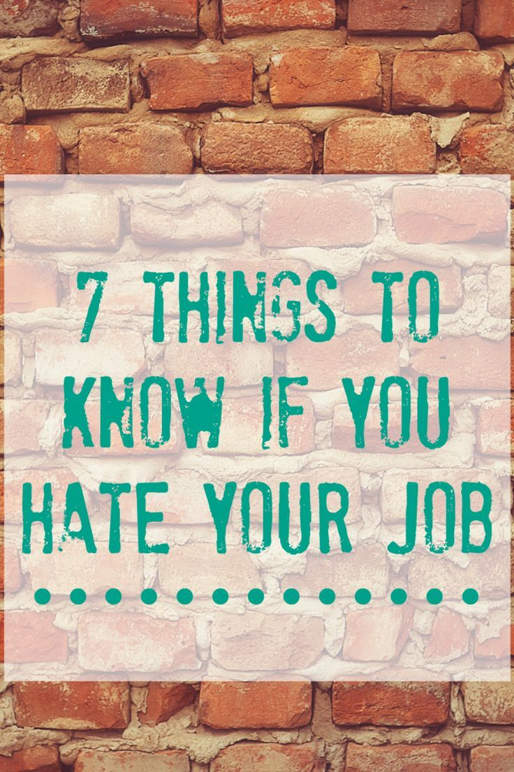 Want to quit the job you hate? You're not alone. Here are some tips to help you when you hate your job (and it doesn't tell you to just suck it up!)