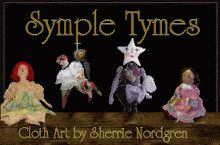 Blogger: SympleTymes Cloth Art By Sherrie Nordgren - Layout