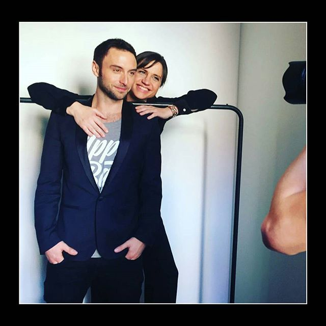 Måns and Petra during a photoshoot for Eurovision 2016! #månszelmerlöw #manszelmerlow #petramede #eurovision #eurovision2016  Credits  @andreasjhansson
